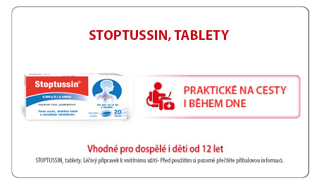 Stoptussin tablety
